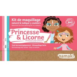 "Kit de maquillage 3 couleurs ""Princesse & Licorne"""