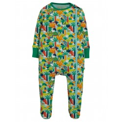 "Pyjama bébé ""Zipped Babygrow, Jungle Rumble"" - coton bio"