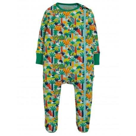 """Pyjama bébé """"Zipped Babygrow, Jungle Rumble"""" - coton bio"""