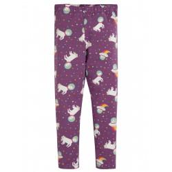 "Legging ""Libby Printed Legging, Amethyst Unicorn"" - coton bio"