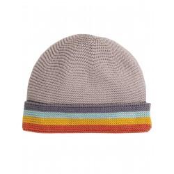 """Bonnet bébé """"Harlow Knitted Hat, Soft Rainbow"""" - coton bio"""