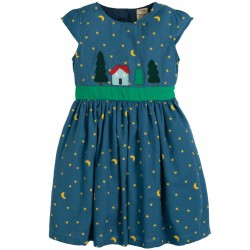 "Robe ""Sparkle & Shine Dress, Moonlight / Christmas Town"" - coton bio"