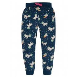"Pantalon ""Printed Snug Joggers, Space Blue Unicorn"" - coton bio"