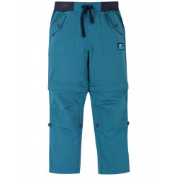 "Pantalon ""Tyler Ripstop Combats, Steely Blue"" - coton bio"