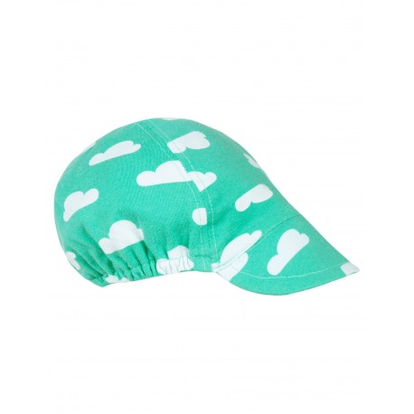 """Casquette bébé """"Eddie Hat, Pacific Aqua Clouds"""" - coton bio"""
