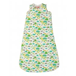 "Sac de couchage bébé ""Snuggler Sleeping Bag, Land Of The Rising Sun"" - coton bio"