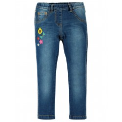 "Pantalon ""Julie Jeggings, Mid Wash Denim"" - coton bio"