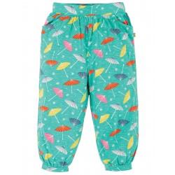 """Pantalon bébé """"Hattie Harems, Pacific Aqua Parasols"""" - coton bio"""