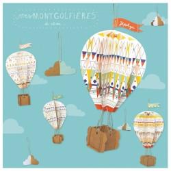 """Kit créatif """"Montgolfières"""""""