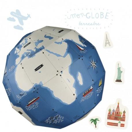 "Kit créatif ""Globe terrestre"""