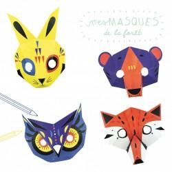 """Kit créatif """"Masques de la forêt"""""""