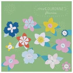 """Kit créatif """"Mes couronnes de fleurs à créer"""""""