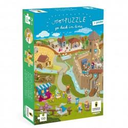 """Jeu de puzzle """"Chateau fort"""""""
