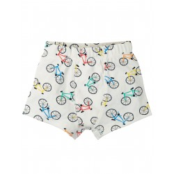 "Caleçon ""Sean Printed Boxer Trunks, Soft White Rainbow"" - coton bio"