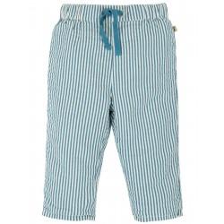 "Pantalon bébé ""Marnie Pull Ups, Seersucker Stripe"" - coton bio"