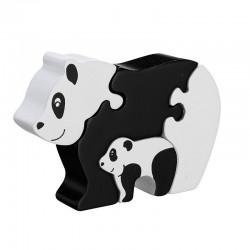 """Puzzle maman et bébé """"Panda"""""""