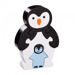 """Puzzle maman et bébé """"Pingouin"""""""
