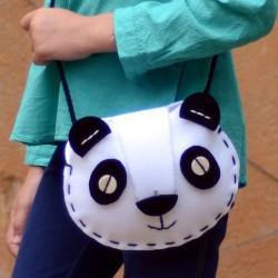 "Kit couture ""sac Panda"" - DIY"