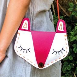"Kit couture ""Sac renard"" - DIY"