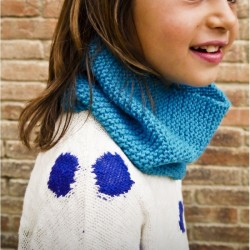 "Kit tricot ""Col bleu"" - DIY"