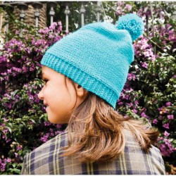 "Kit tricot ""Bonnet bleu"" - DIY"