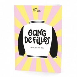 "Cahier d'amitié ""Gang de filles"""