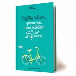 """Cahier de souvenirs """"Remember ton enfance"""""""