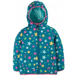 "Veste ""Reversible Toasty Trail Jacket, Rainbow Stars"" - polyester recyclé"