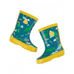 """Regenlaarzen """"Puddle Buster Welly Boots, Loch Blue Nessie"""" - polyester recyclé"""