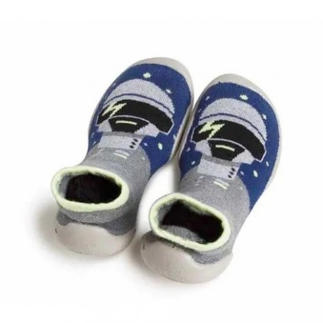 """Chaussons """"Robot"""" - Made in France"""
