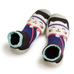 "Chaussons ""Miaou"" - Made in France"