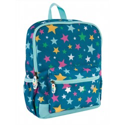 "Sac à dos ""Adventurers Backpack, Rainbow Stars"" - polyester recyclé"