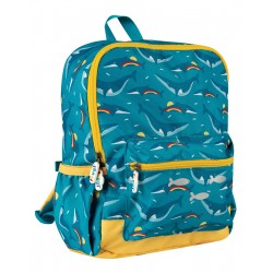 "Sac à dos ""Adventurers Backpack, Rainbow Whales"" - polyester recyclé"