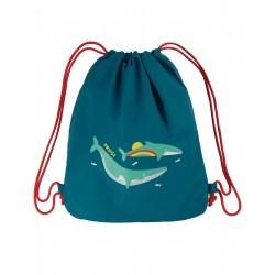 "Sac de sport ""Swashbuckler Swim Bag, Loch Blue / Whale"" - polyester recyclé"