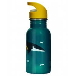 "Gourde ""Splish Splash Steel Bottle, Whale"""