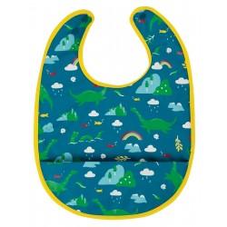 "Bavoir imperméable ""Spick & Span Bib, Loch Blue Nessie"" - polyester recyclé"