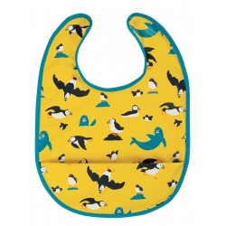 "Bavoir imperméable ""Spick & Span Bib, Sunflower Puffling Away"""