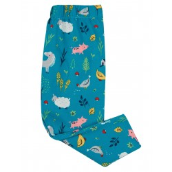 "Legging ""Libby Printed Leggings, Farmyard"" - coton bio"