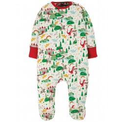 "Pyjama bébé ""Zipped Babygrow, Multi Mini Fairytale"" - coton bio"