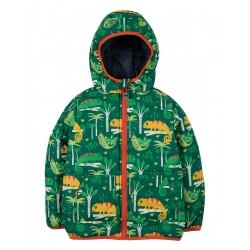 """Veste """"Reversible Toasty Trail Jacket, Chameleon Forest"""" - polyester recyclé"""