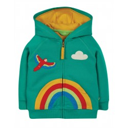 "Sweat ""Helford Hoody, Jewel / Rainbow"" - coton bio"