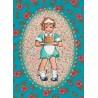 Postkaart verjaardag meisje