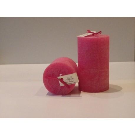 """Bougie artisanale parfumée """"Fruits rouges"""" grande baro - Cape Fiore"""