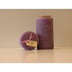 "Bougie artisanale parfumée ""Violette"" petite baro - Cape Fiore"