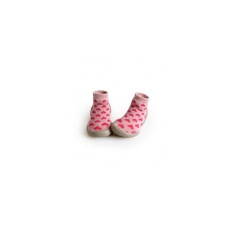 """Chausson Love etc """"Coeurs"""" - Made in France"""