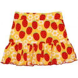 "Jupe ""Strawberries"" - coton bio"