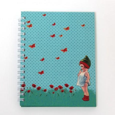 """Cahier de notes à spirales """"Lutin"""""""