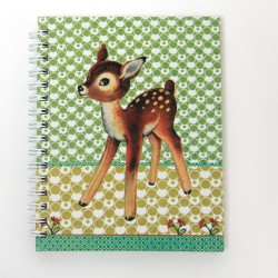 "Cahier de notes à spirales ""Bambi"""