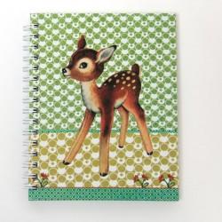 "Cahier à spirales ""Bambi"""