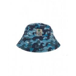 "Chapeau / bob ""Wave camo"" - coton bio"